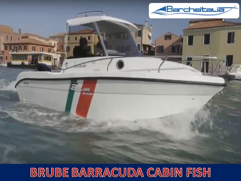 BRUBE BARRACUDA Cabin Fish